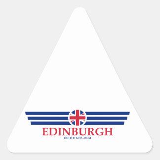 Pegatina Triangular Edimburgo