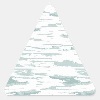 Pegatina Triangular El cepillo frota ligeramente el modelo 10