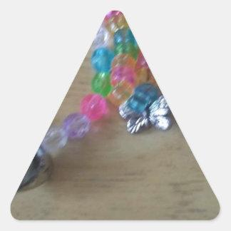 Pegatina Triangular el hogar hizo braclets moldeados
