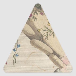 Pegatina Triangular El jardín de flores - Matthew Darly