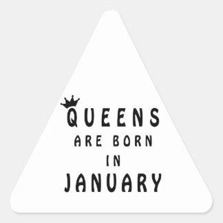 Pegatina Triangular El Queens nace en enero