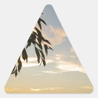 Pegatina Triangular En el extremo de los días