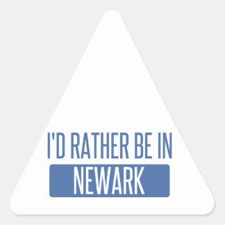Pegatina Triangular Estaría bastante en Newark NJ