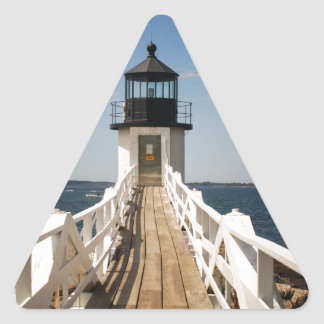Pegatina Triangular Faro del punto de Marshall