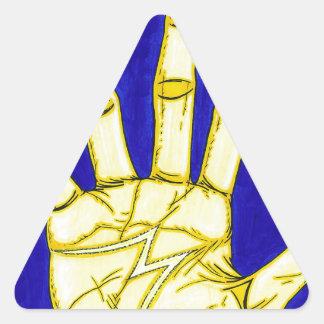 Pegatina Triangular Gente de M