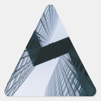 Pegatina Triangular Gris