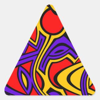 Pegatina Triangular Harlequin
