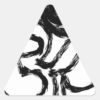Pegatina Triangular hindú