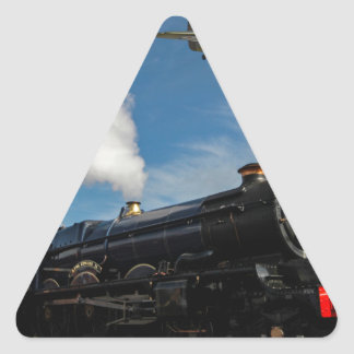 Pegatina Triangular Huracanes y tren del vapor