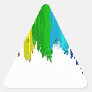 Pegatina Triangular Las mejores ideas de la colección del regalo del