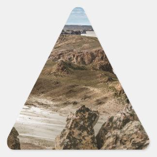 Pegatina Triangular Miradores de Darwin, Santa Cruz la Argentina