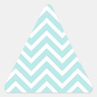 Pegatina Triangular Modelo de zigzag