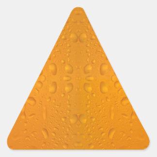 Pegatina Triangular Modelo macro 8868 del vidrio de cerveza