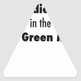 Pegatina Triangular Morí en la masacre de Bowling Green