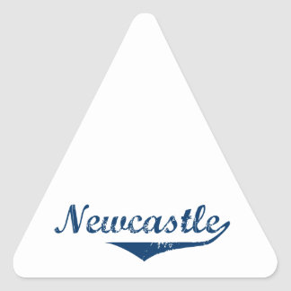 Pegatina Triangular Newcastle