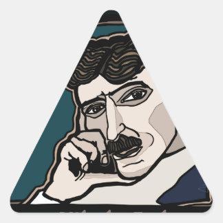 Pegatina Triangular NikolaTesla