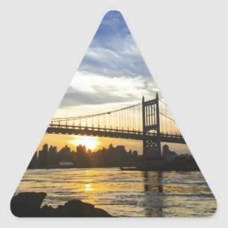 Pegatina Triangular Nueva York
