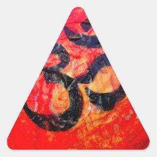 Pegatina Triangular Ohmio