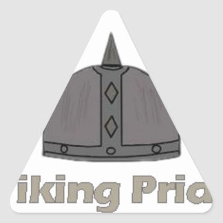 Pegatina Triangular Orgullo de Viking