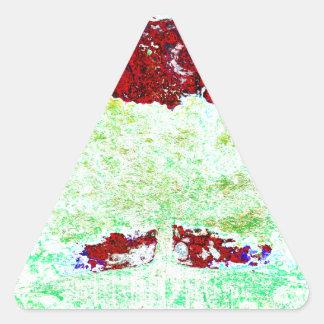 Pegatina Triangular Para Evrr