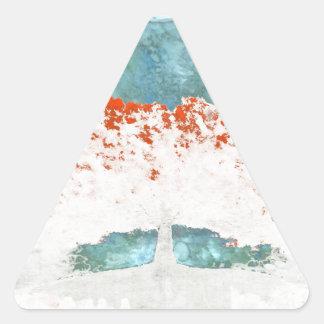 Pegatina Triangular Para nunca
