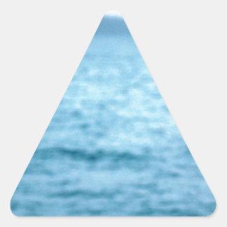 Pegatina Triangular pelícano pacífico