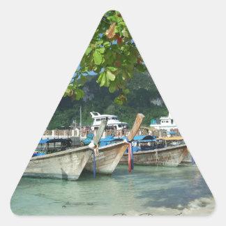 Pegatina Triangular Phiphiisland_card