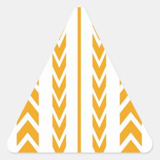 Pegatina Triangular Pisada del neumático del caramelo