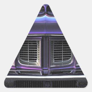 Pegatina Triangular Plymouth 1971 'Cuda