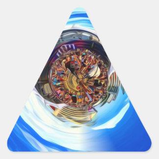 Pegatina Triangular Portal del festival