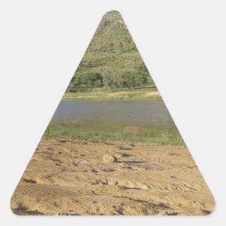 Pegatina Triangular Presa 1 de Meulspruit