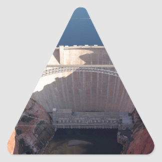 Pegatina Triangular Presa y puente, Arizona de Glen Canyon