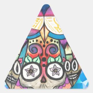 Pegatina Triangular ¿Qué el pitido?