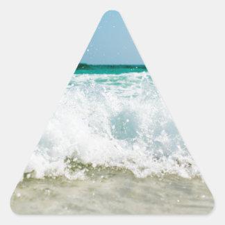 Pegatina Triangular resaca