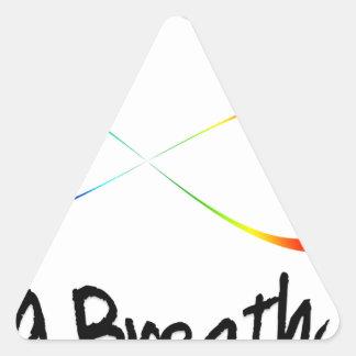 Pegatina Triangular respiración infinita
