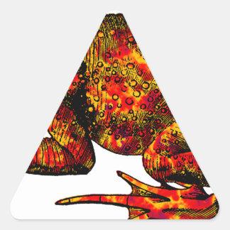 Pegatina Triangular Saltos y límites