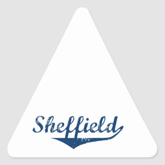 Pegatina Triangular Sheffield