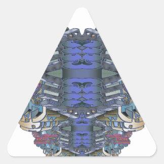 Pegatina Triangular SkycityFlatsONE