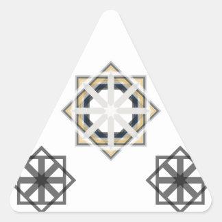 Pegatina Triangular spirograph-multiple-shapes3-35