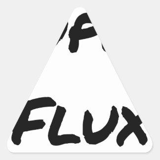 Pegatina Triangular SUPERES FLUJOS - Juegos de palabras - Francois