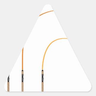 Pegatina Triangular Tecnología doblada del clip art del ejemplo del