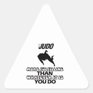 Pegatina Triangular Tender DISEÑOS del judo