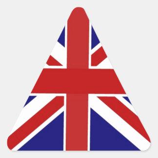 Pegatina Triangular Union Jack