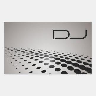 Pegatina único de DJ