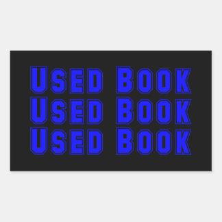 Pegatina usado del libro