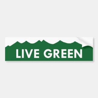 Pegatina verde vivo de Colorado Pegatina Para Coche