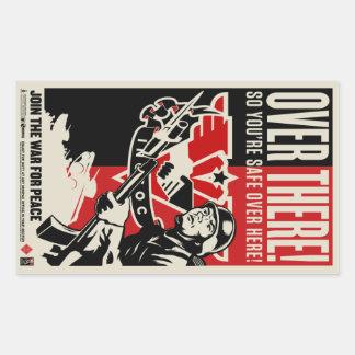 Pegatinas 1984 de la propaganda pegatina rectangular