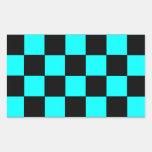 Pegatinas 3 del tablero de ajedrez del tablero de rectangular altavoces