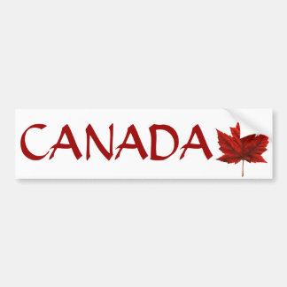 Pegatinas canadienses de la hoja de arce de la peg pegatina para coche