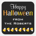 Pegatinas conocidos personalizados de Halloween